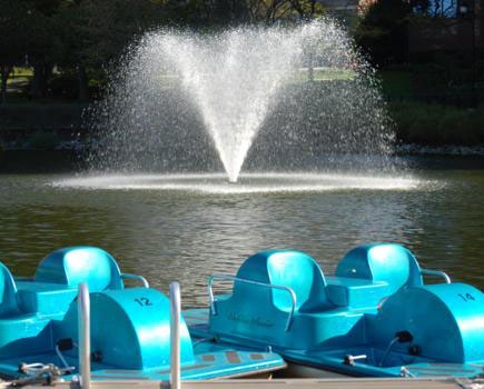 $10 for 1/2 Hour Paddle Boat Rental on Lake Kittamaqundi - Columbia (33% off)