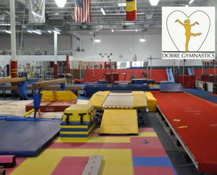 $17 for 5 Open Gym Passes to Dobre Gymnastics - Ages Walking to 13 in Gaithersburg ($35 Value - 52% Off)