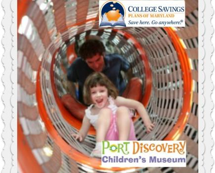 $5.29 Admission to Port Discovery Children's Museum on Oct 20th OR Oct 21st  (63% off a $13.95 Value)