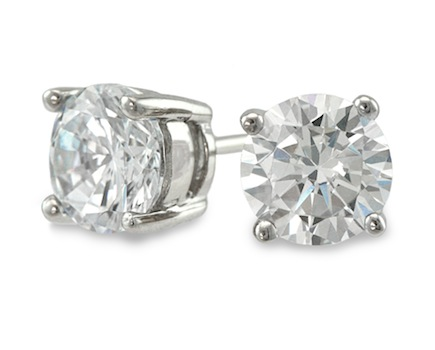 $35 for Pair of Say Hello Diamonds 1-Carat Studs - FREE SHIPPING! ($155 Value - 77% Off)