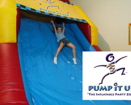 $25 for Pump It Up 5-Pass - Gaithersburg or Leesburg (50% Off)