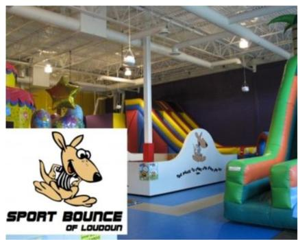 $250 for Birthday Party at Sport Bounce of Loudoun