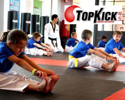 $99 for One Week Full Day Spring Break Camp + BONUS One Month of Lessons and FREE Uniform from TopKick Martial Arts - 6 VA Locations (77% off - $420 value)