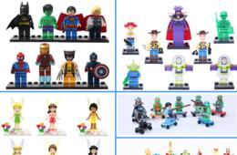 BACK BY POPULAR DEMAND! $19 for 8 Piece Building Block Figures Shipped - 7 Sets to Choose From - NEW Options Added! ($39 Value)