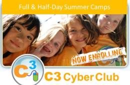 $149 for C3 Cyber Club Half-Day  Camp for Grades K thru 8th - Ashburn, VA (33% Off!)