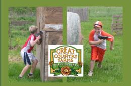 $149 for Great Country Farms LASER TAG PARTY - Up to 15 Kids! (50% Off! - $300 Value)