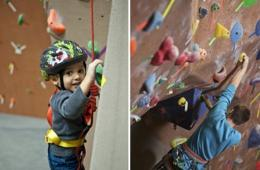 $119 for Indoor Rock Climbing Camp for Ages 5-13 at Vertical Rock Manassas (41% Off - $200 Value)