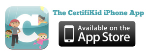 The CertifiKid iPhone App