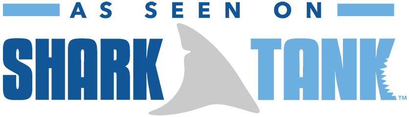Logo for 'As Seen on Shark Tank' - Desktop