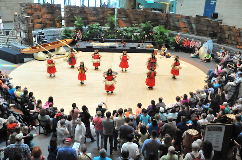 Hawaiian Cultural Festival at the American Indian Museum