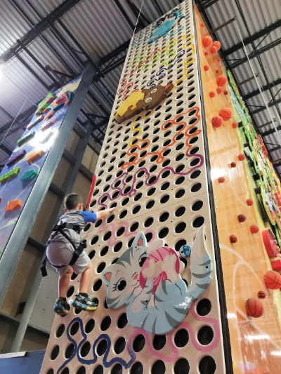 Themed Climbing Walls at ClimbZone in White Marsh