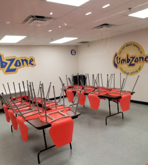 Birthday Party Room at ClimbZone in White Marsh