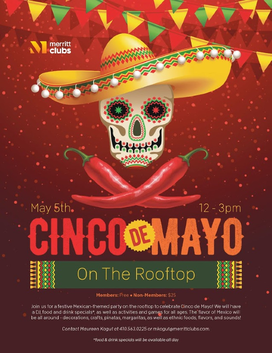 Merritt Clubs Canton Cinco de Mayo on the Rooftop 2019
