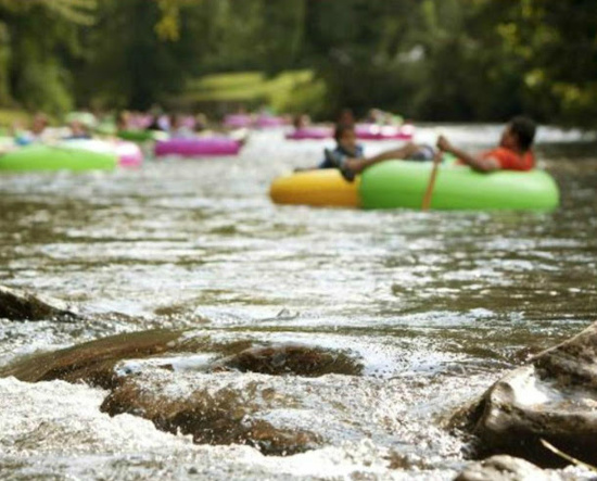 River Tubing on the James River