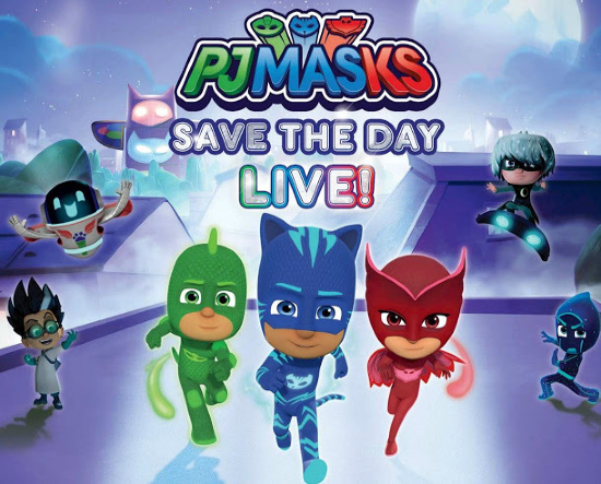 PJ Masks live at the University of Maryland Baltimore County