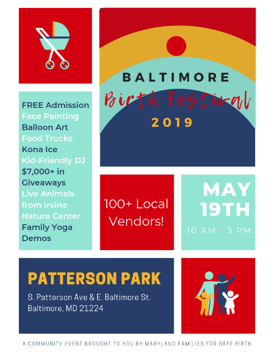 Baltimore Birth Festival at Patterson Park