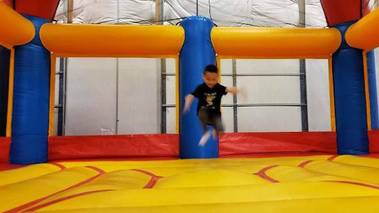 Bounce House at ClimbZone White Marsh