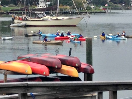 Paddle or Pedal on the Chesapeake Bay