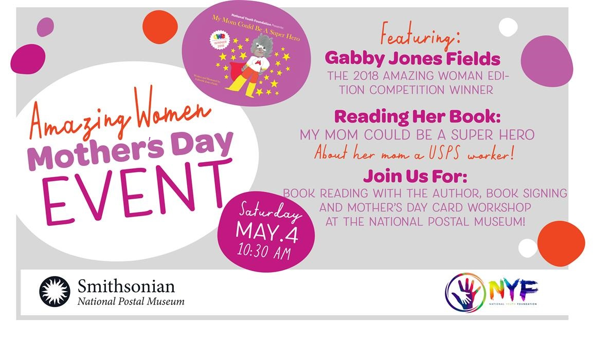 Amazing Women, Mother's Day Event, Postal Museum