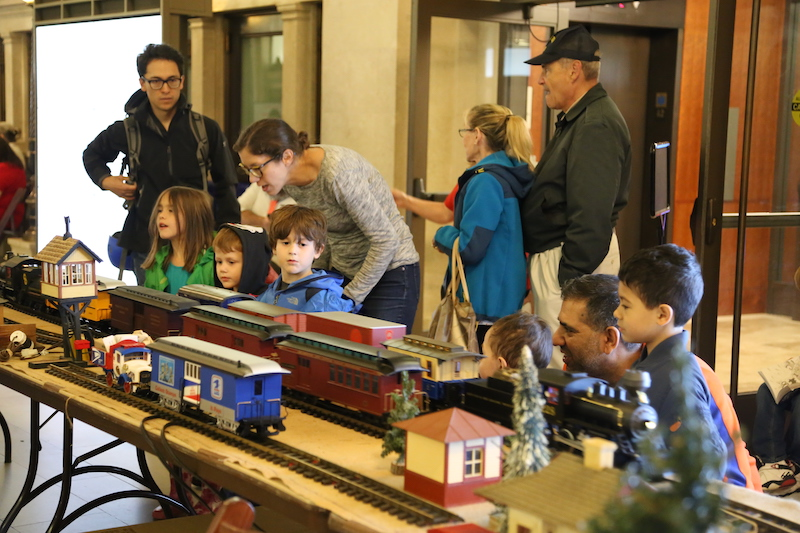 Train Day Celebration, National Postal Museum