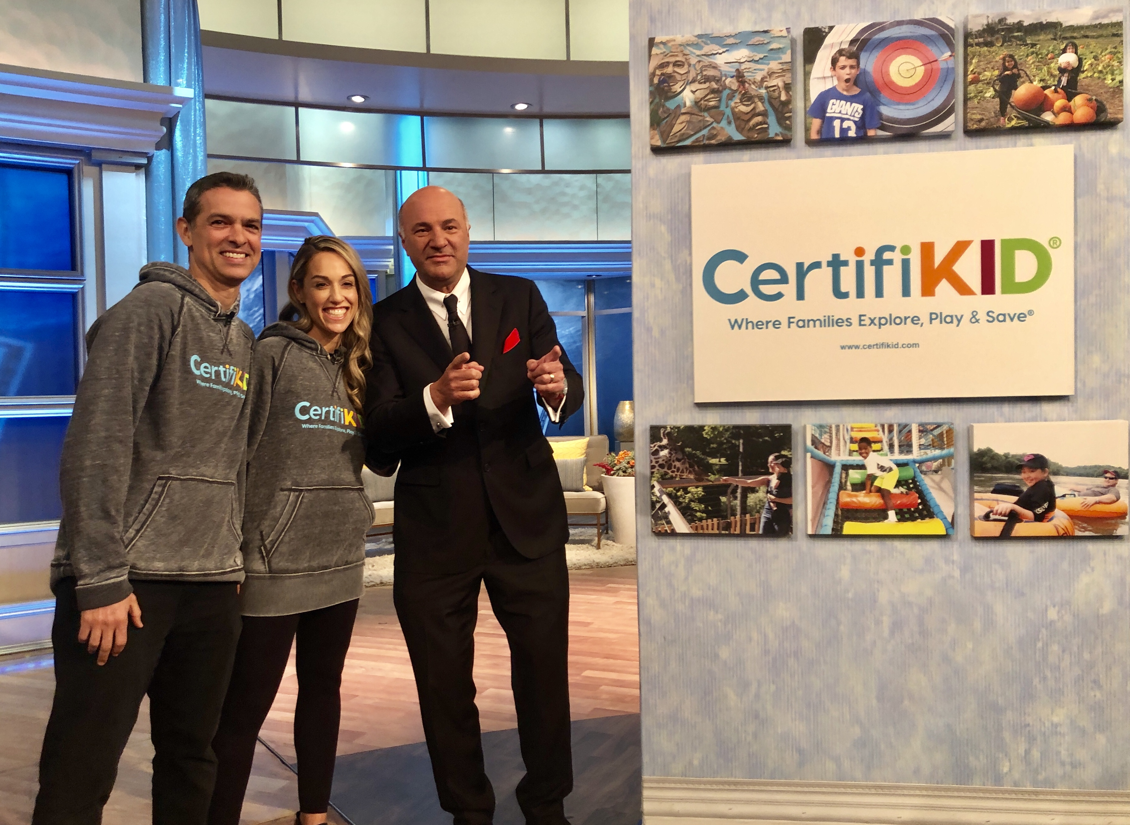 CertifiKID The View Kevin O'Leary