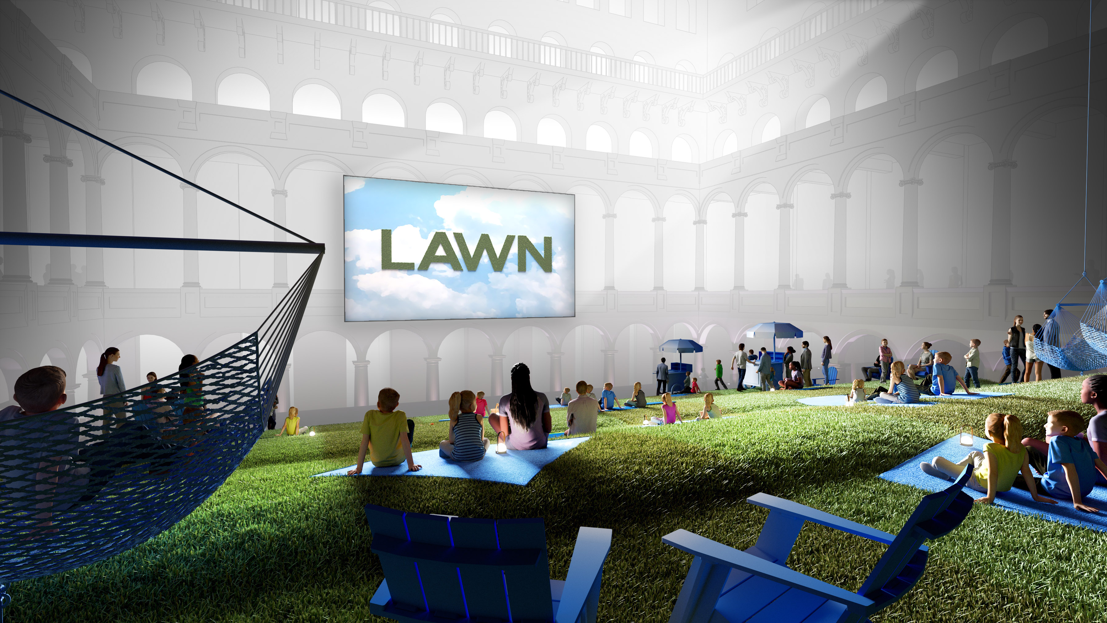 National Building Museum Lawn Exhibit Summer 2019
