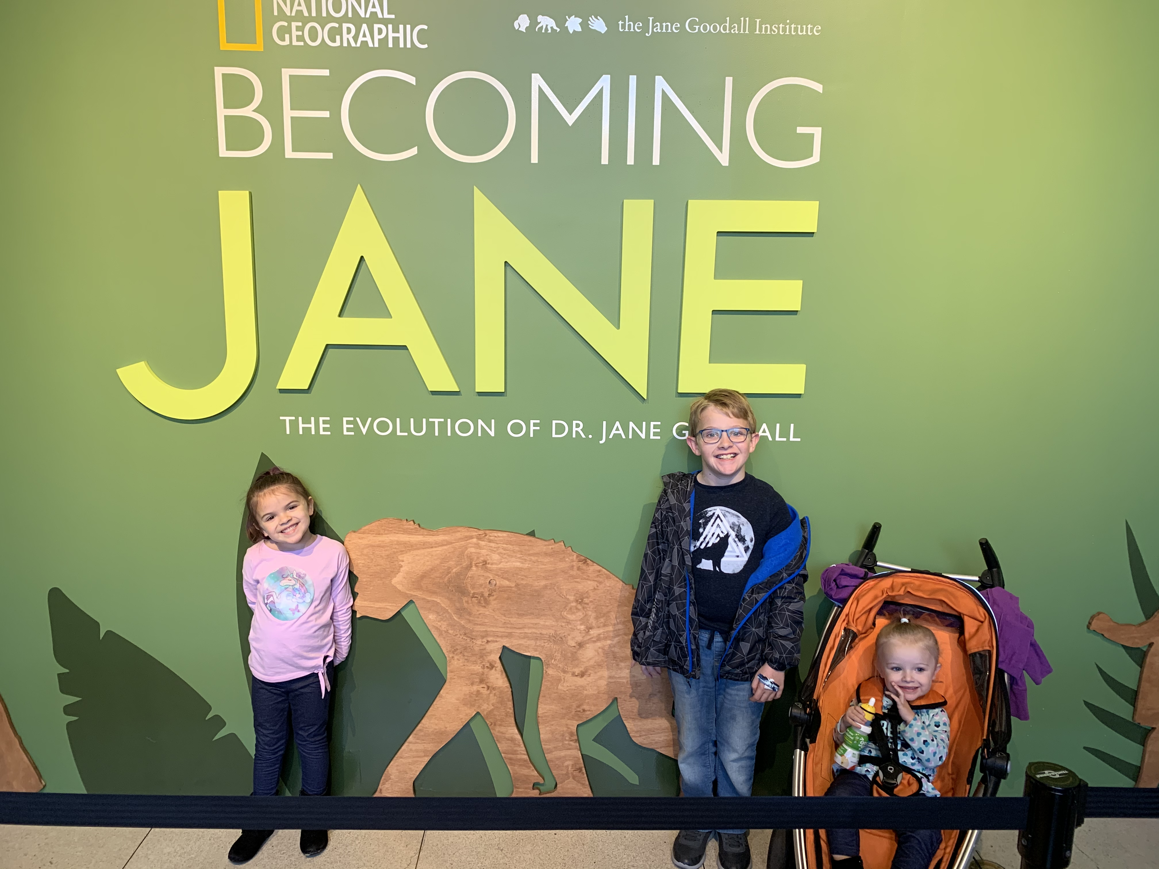 Becoming Jane at National Geographic Museum
